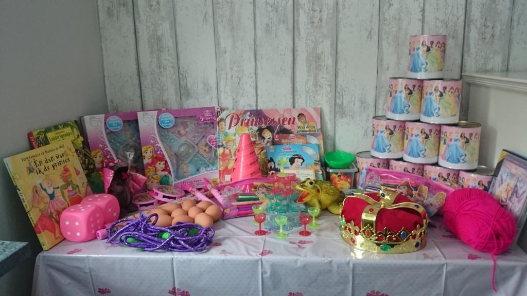 Spelletjes Prinsessenfeest