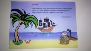 Voorbeeld Uitnodiging Piratenfeest