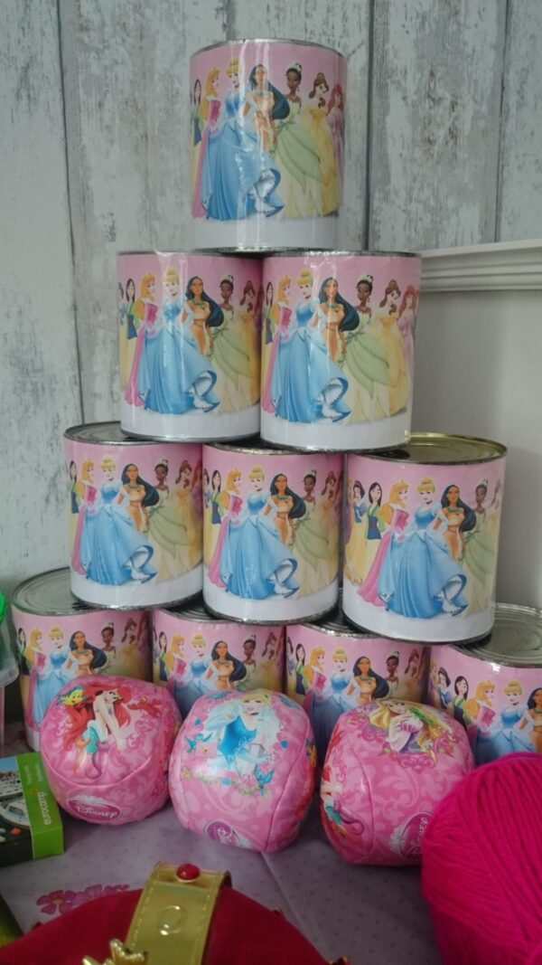 blikgooien kinderfeest prinsessen prinsessenfeest