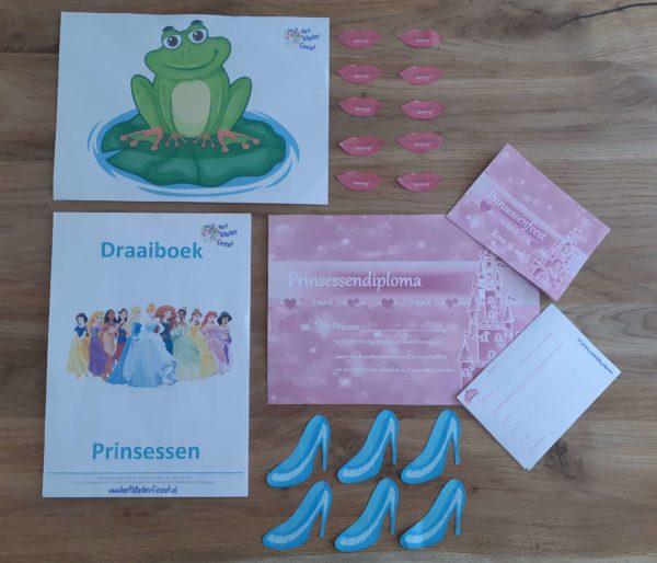 inhoud digitaal draaiboek prinsessen