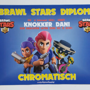 Brawl Stars diploma