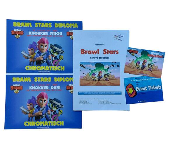 Brawl Stars feestset gepersonaliseerd