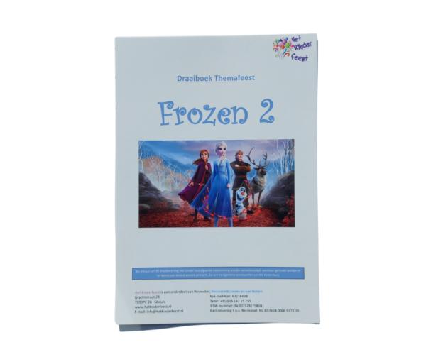 Draaiboek Frozen 2