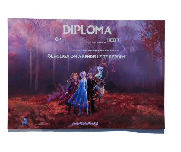 Frozen 2 diploma download