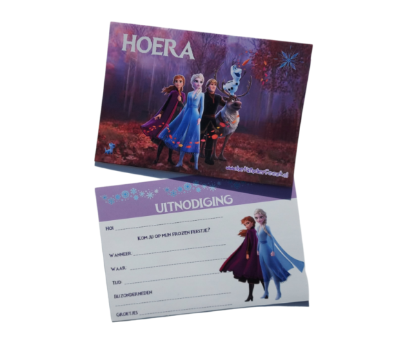 Frozen 2 uitnodiging download