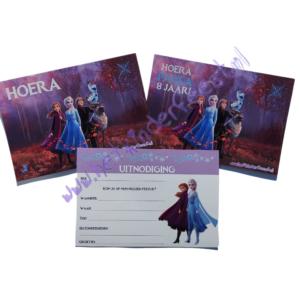 Frozen 2 uitnodigingen